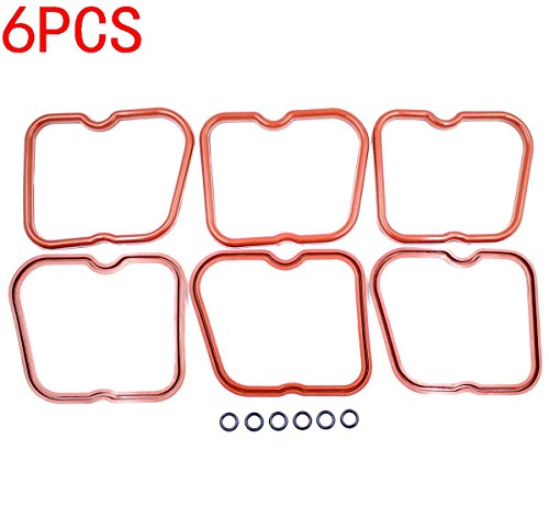 - GooDeal 6pcs Valve Cover Gaskets 3902666 for Dodge Cummins 12V 5.9L 6BT 5.9