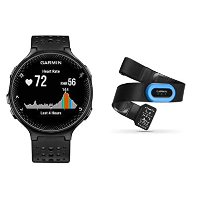 Garmin Forerunner 235 - Black/Gray and HRM-Tri Heart Rate Monitor