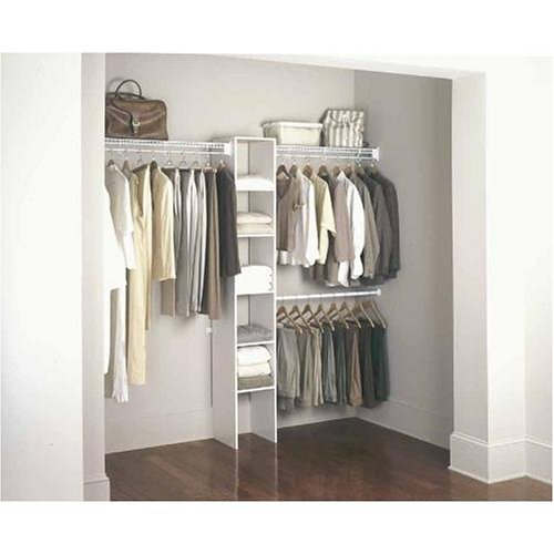 tightmesh in ultra htm wire and shelving options the with closet system custom walk by rubbermaid freeslide