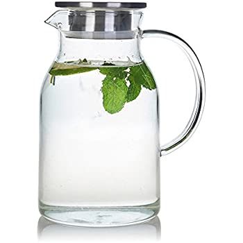 Glass Drinking Jugs With Spout
