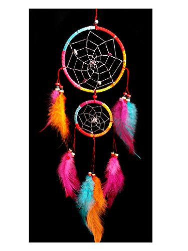 Handmade Dream Catcher Car or Wall Hanging Ornament-CFL (With a Betterdecor Logo Bag)