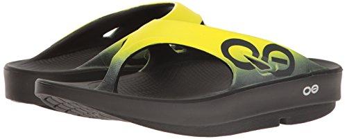 OOFOS OOriginal Sport Thong Black / Yellow JcRfiTXRtn