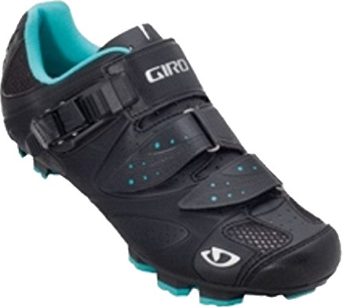 Giro 2013 Women's Sica Mountain Bike Shoes (Black/Teal – 38.5)