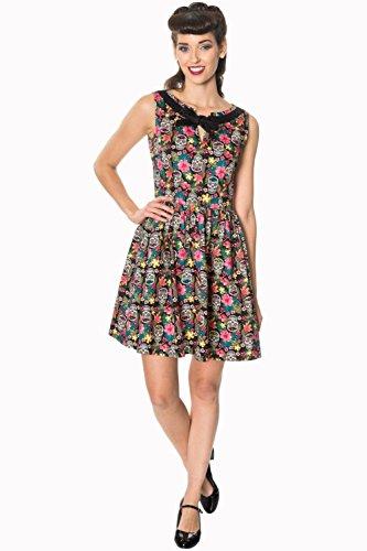 記念碑転倒結晶Banned Clothing - Brooke Sl/Less Dress L