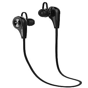 nenrent Q9Auriculares Bluetooth, Wireless Bluetooth V4.1Manos libres estéreo auriculares deporte con micrófono llamadas auriculares auriculares con micrófono para iPhone iPad iPod Samsung Galaxy LG HTC y smartphones