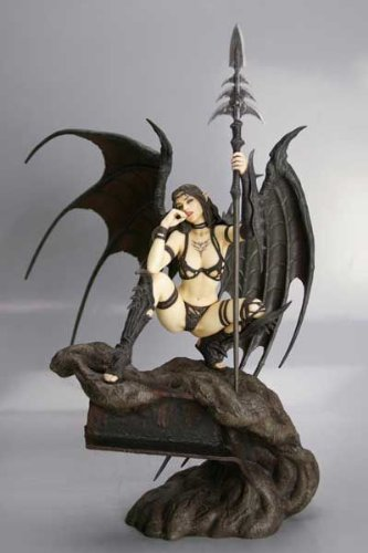 Fantasy Figure Gallery Black Tinkerbell PVC by Luis Royo