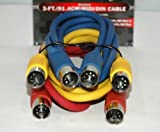Best RadioShack Midi Cables - SHIELDED MIDI CABLE SET Review