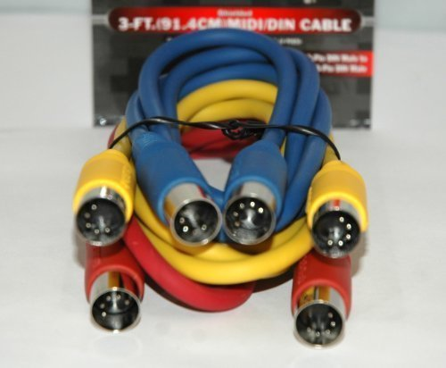 SHIELDED MIDI CABLE SET by Radio Shack
