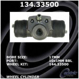 Centric Parts 134.33500 Drum Brake Wheel ()
