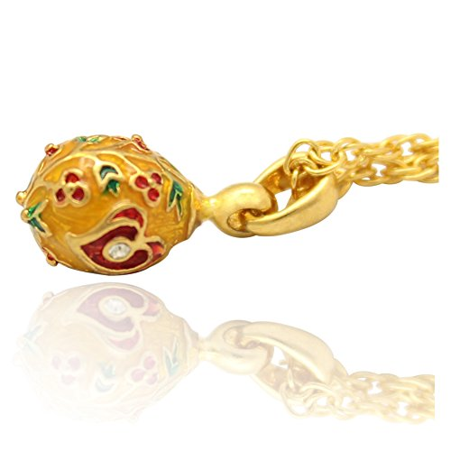Faberge Yellow Gold Pendant - 1