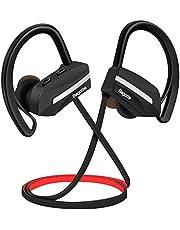 Bagotte Bluetooth Kopfhörer in Ear Bluetooth Headset Sport Ohrhörer IPX7 Wasserdichte 8 Stunden Spielzeit, CVC 6.0 Noise Cancelling Kopfhörer mit Mikrofon für iPhone Android