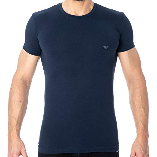 - Emporio Armani Big Eagle T-Shirt Navy