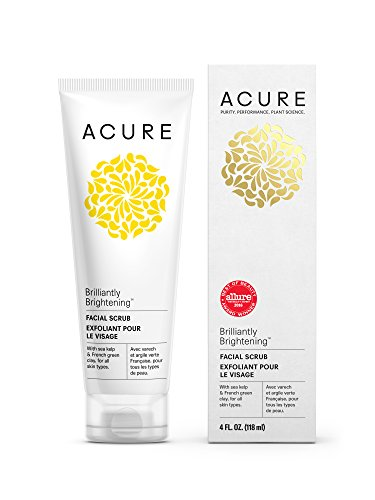 Acure Brilliantly Brightening Facial Packaging product image