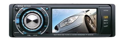 BOSS BV7940 Negro receptor multimedia para coche - Radio para coche (Negro, 4.0 canales