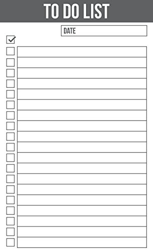 Jot & Mark To Do List 3 x 5 Inches Vertical Index Cards (Pack of 100)
