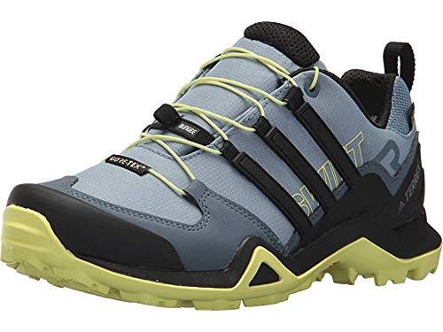adidas outdoor Terrex Swift R2 GTX Hiking Shoe - Women's Raw Grey/Black/Semi Frozen Yellow, 6.5