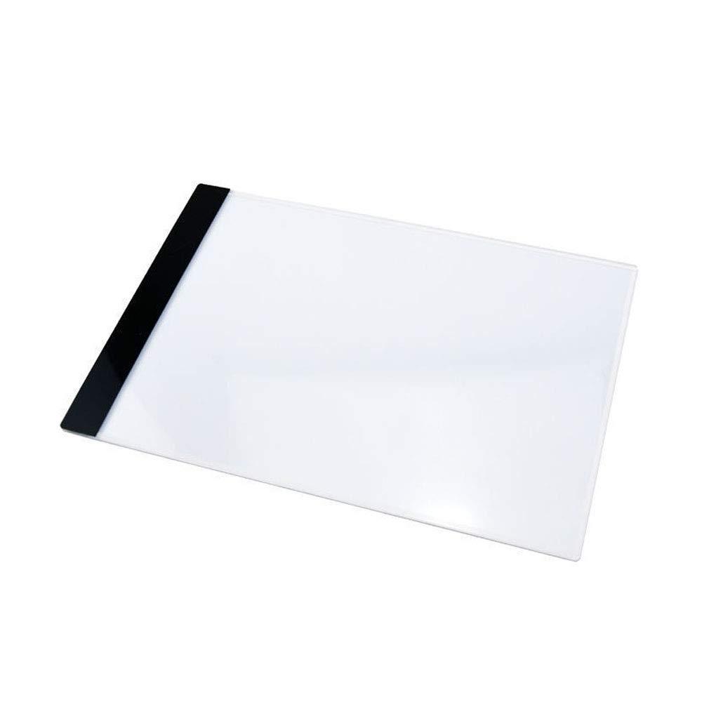 Mintice Scatola Luminosa a tracciamento LED tavola Blocco Disegno A4 Stencil artcraft abbozzare Animazione tavoletta Luminosa ricalco