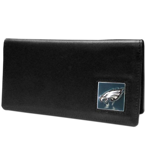 - NFL Philadelphia Eagles Leather Checkbook Cover