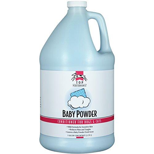 (Top Performance Baby Powder Pet Conditioner, 1-Gallon)