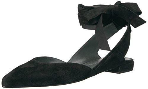 Stuart Weitzman Womens Supersonic Ballet Flat Black