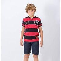 Camisa Infantil Flamengo Tri Zico