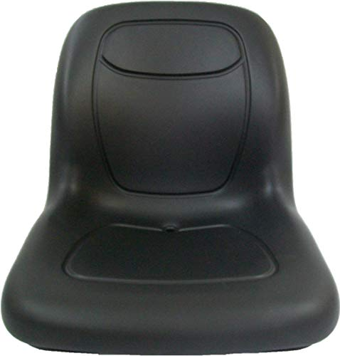 MILSCO Black SEAT KUBOTA L3010,L3410,L3710,L4310.L4610 Compact Tractor, L48 Backhoe #DK - Kubota Compact Tractor