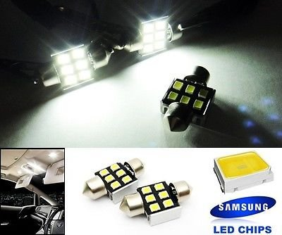 LEDIN SAMSUNG 6 High Power LED Trunk Cargo Area Light DE3175 DE3022 Festoon 31mm Bulb - 1995 Honda Civic Trunk