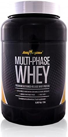 Big Man Nutrition Multi-Phase Whey Complejo de Proteínas, Piña Colada - 910 gr