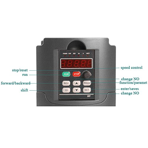Konmison Vfd Drive Vfd 110v 1 5kw 3hp Vfd Inverter