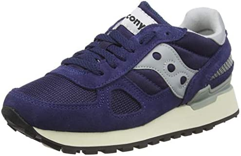 Saucony Men/'s New Shadow 6000 Suede Nylon Shoes White Grey Purple