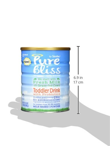 Pure Bliss by Similac Toddler Drink with Probiotics, Starts with Fresh Milk from Grass-Fed Cows, Non-GMO Toddler Formula, 31.8 ounces by Similac (Image #12)