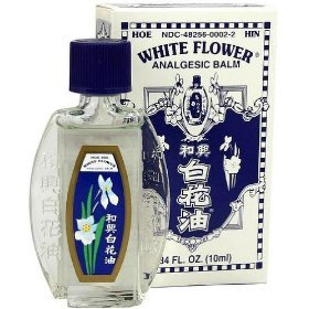 Amazon white flower analgesic balm from hoe hin pak fah yeow white flower analgesic balm from hoe hin pak fah yeow 034 oz 10 ml bottle mightylinksfo