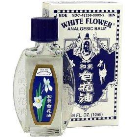 Amazon white flower analgesic balm from hoe hin pak fah yeow white flower analgesic balm from hoe hin pak fah yeow 034 oz 10 ml bottle mightylinksfo