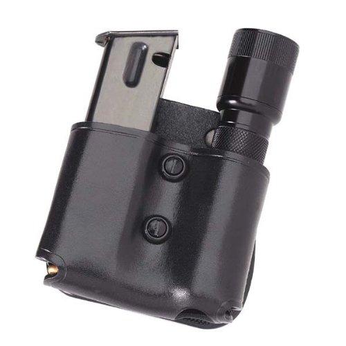 Galco MFP28B Cop Magazine Flashlight Paddle, Black, Ambidextrous