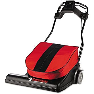 Electrolux Sanitaire SC6093 Wide Area Vacuum, 74 lb., Red