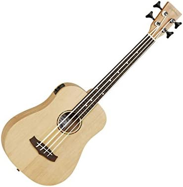 Tanglewood TWR-B-E-FR bajo Fretless acústico guitarra de viaje ...