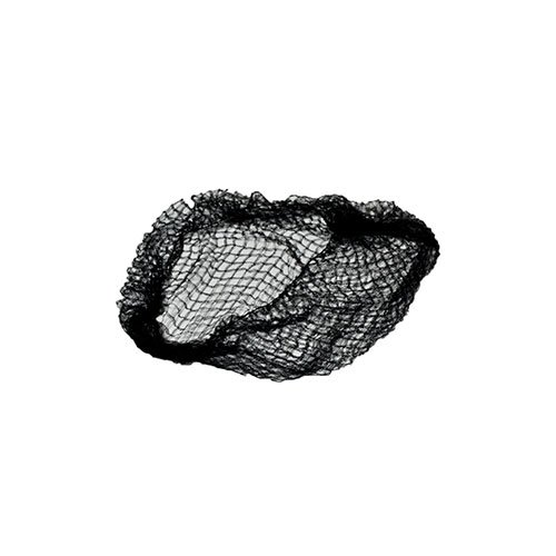 Royal 20' Black Heavy Weight Hairnet Latex Free, Package of 144
