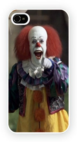 Pennywise IT Clown, iPhone 5 / 5S glossy cell phone case /