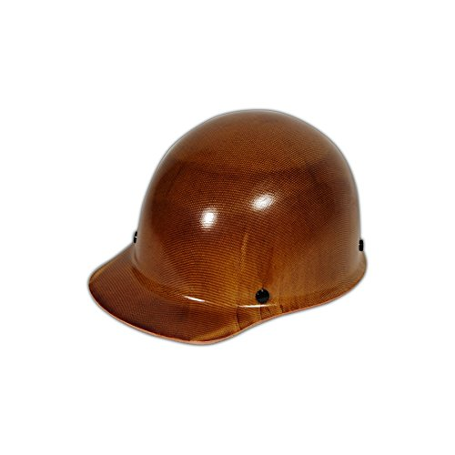 MSA 475395 Skull Gard Hard Hat for Elevated Temperatures, 11'' x 8'' x 4'' 5, Brown, 11'' x 8'' x 4'' 5 by MSA