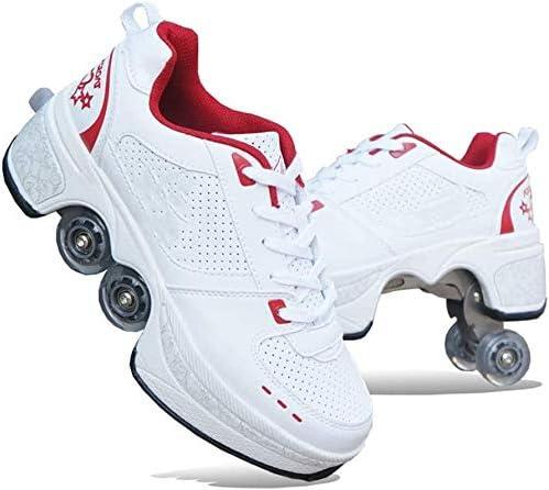 Zapatos con Ruedas Zapatos De Skate para Mujeres, Hombres, Niños ...