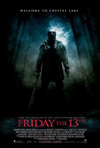 Friday The 13TH Movie Poster 2 Sided Original