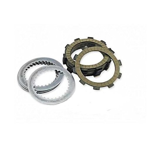 Outlaw Racing ORCS065 Kevlar Complete Clutch Repair Rebuild Kit Steel & Fiber (Ebc Complete Clutch Kit)