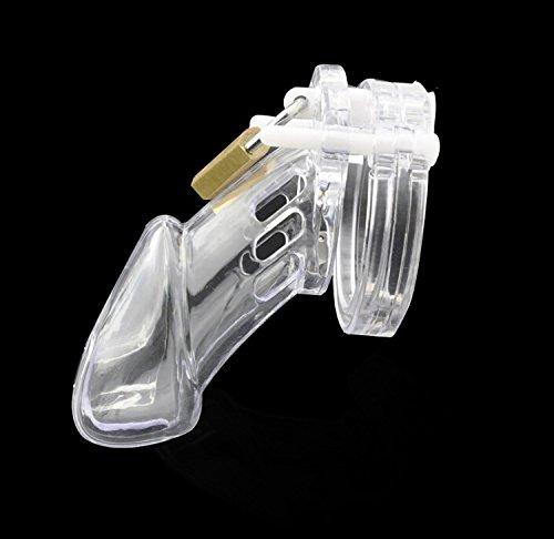 Yocitoy Male CB-6000 Chastity Device CB-6000 Male con 5 tamaños Anillos (Clear) 09e702