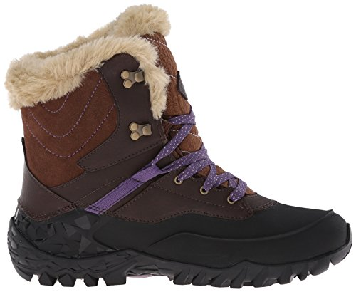 mujer Wtpf Rise Fluorecein de Chocolate High cuero Shell Hiking Merrell Brown 8 CwzxqXt