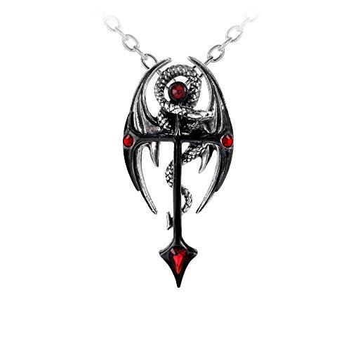 Draconkreuz Dragon Treasure Gothic Necklace by Dear Deceased