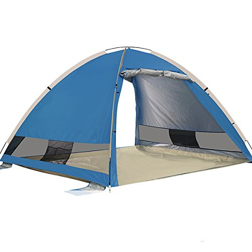 Portable Pop Up Shelters : G free outdoors large pop up beach tent instant easy