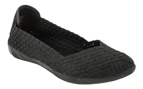 Bernie Mev Women's Catwalk Flats Comfort,Black,40