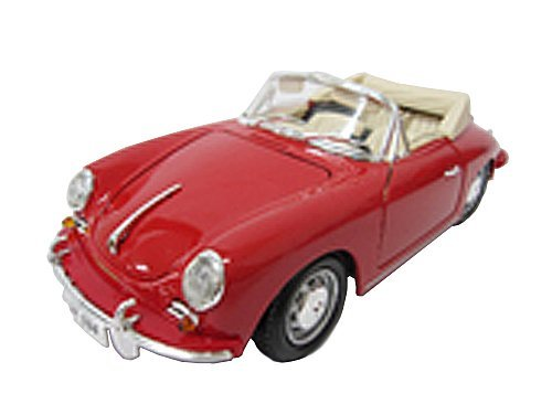 First Arrow (FIRST ARROW) Vicky 1/18 Porsche 356B Cabriolet (1961) Red finished product ()
