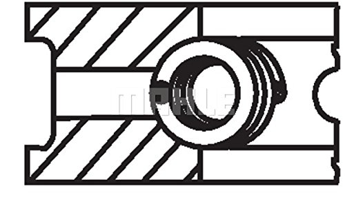 Mahle Original 029 52 N0 Segments de pistons