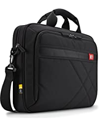 15-Inch Laptop and Tablet Briefcase, Black (DLC-115)